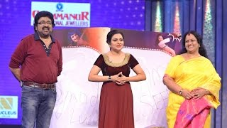 Onnum Onnum Moonu Season 2 I Ep 05 - Evergreen Actors Seema & Jose on the floor I Mazhavil Manorama