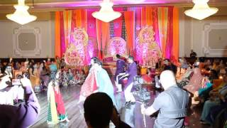 Best Mehndi Dance 2014   Zaid and Anza   Surprise Groom Performance   YouTube