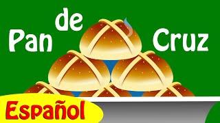 Pan de Cruz Canción Infantil con Letra - Canciones Infantiles en Español | ChuChu TV