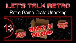 Retro Game Crate Unboxing - Let's Talk Retro (Episode 13)