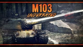 War Thunder RB Gameplay - M103 - Underrated