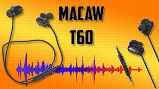 Aπίστευτο Value στα Ασύρματα Ακουστικά [~16€] !  Macaw T60