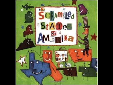 Scrambled States Read-Aloud and 50 Nifty United States