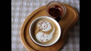 Latte Art for Halloween (Латте-арт для Хеллоувина)