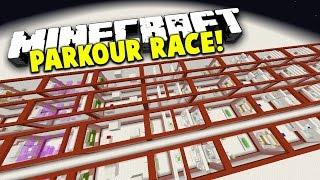 Minecraft 1v1v1 TNT PARKOUR RACE!   (USE TNT TO PARKOUR!)