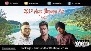 2019 MEGA BHANGRA MIX   PART 2   BEST DANCEFLOOR TRACKS