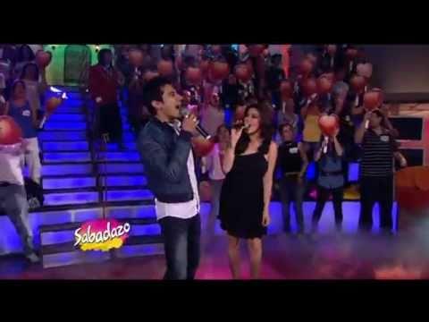 Maite Perroni y Marco Di Mauro A Partir De Hoy ll Sabadazo 07.02.11
