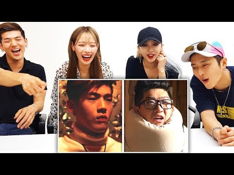 K-POP IDOLS REACT TO LANKYBOX - K-POP WITH ZERO BUDGET! (KARD)