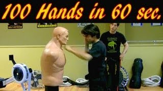 100 Kenpo Techniques in under 1 minute!