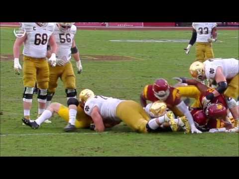 2016 Notre Dame vs USC Condensed Game