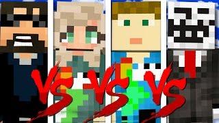 I HAVE NO FRIENDS CHALLENGE | Minecraft Bed Wars 1v1v1v1