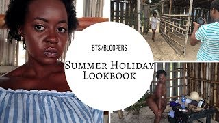 ☀ Summer Lookbook BTS and Bloopers 😜  | OmogeMuRa