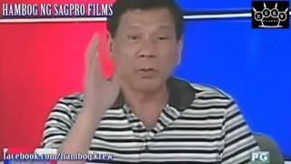 Duterte VS Mar   Hambog Ng Sagpro Films