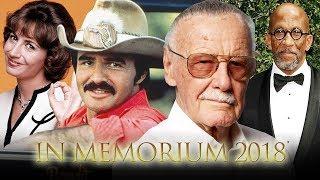 In Memorium - Honoring those we lost in Entertainment in 2018