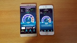 Huawei Mate S vs iPhone 6S - Speed & Camera Test