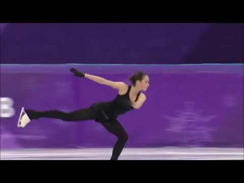Xxx Mp4 Alina Zagitova 3 3 3 3 3 Practice At PyeongChang 2018 3gp Sex