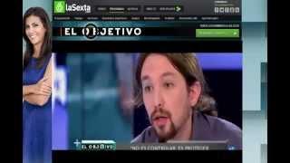 Ana Pastor a saco con Pablo Iglesias  (El Objetivo)