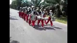 Prapon Medan 2015 Perjuangan Laras Tim Drum Corps Kalsel