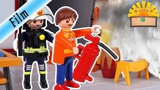 FEUERALARM in der GRUNDSCHULE- FAMILIE Bergmann #65   Staffel 2 - Playmobil Film deutsch