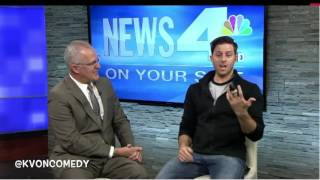 Reno Persian Comedian on NBC Channel 4!  (KvOnTheStreets)