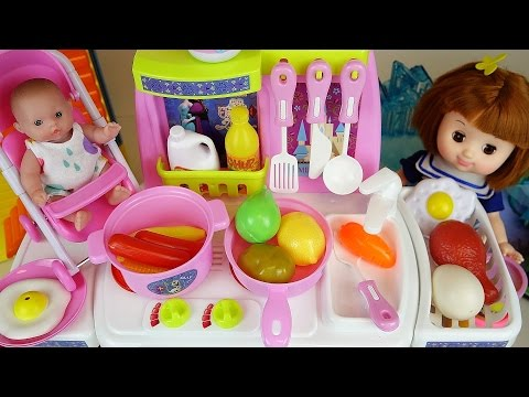 Xxx Mp4 Baby Doll And Frozen Kitchen Toys Play Doh Cooking Food 3gp Sex