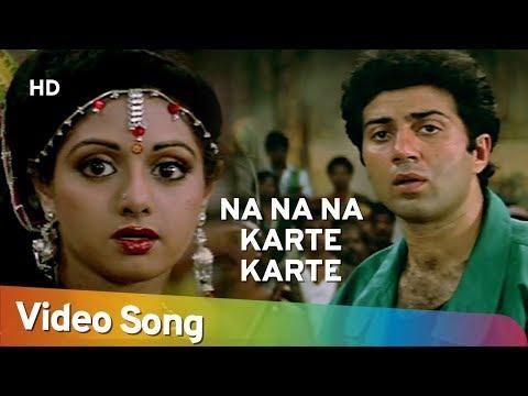 Xxx Mp4 Na Na Na Karte Karte Ikrar Kar Liya Ram Avataar Sridevi Sunny Deol Ram Avataar Old Songs 3gp Sex