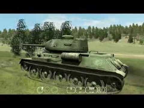 Tiger v T34 Tank Sim IDDK G5 Games