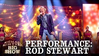 Rod Stewart performs 'Hold the Line' - Michael McIntyre's Big Show: Episode 3 - BBC One