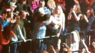 "Luke Bryan ""Country Girl""(shake it for me) Dirt Road Diaries Tour 2-8-13"