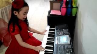 Belajar Keyboard Lagu Andai Aku Punya Sayap #SaveLaguAnak #SelamatkanLaguAnak