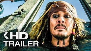 PIRATES OF THE CARIBBEAN: Dead Men Tell No Tales NEW Movie Clips & Trailer (2017)