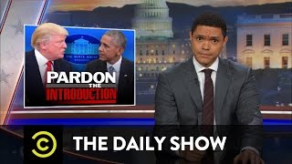 Donald Trump Visits the White House: The Daily Show