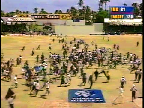 India s greatest loss against the West Indies 1997