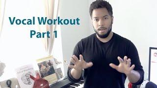 "Professional Vocal Workout - Part 1 ""Advanced Breathing Technique"""