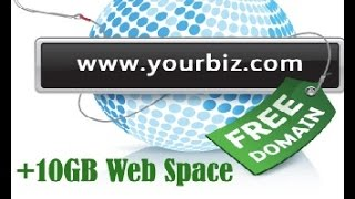 "HOW TO GET FREE "".COM"" DOMAIN + 10GB WEB SPACE 