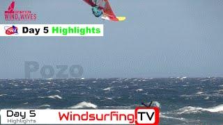 PWA Pozo 2016 - Day 5 - 50 knots Highlights