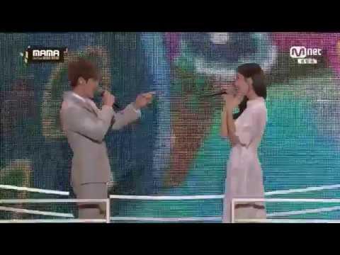 EXO Baekhyun & Suzy - Dream MAMA 2016
