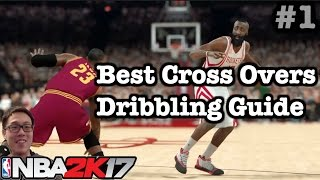 NBA 2K17 Dribbling Tutorial: 2K17 How to do best Crossover Ankle Breakers. How to play 2K17 #1