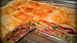 How to make the Easiest Bacon and Egg Pie