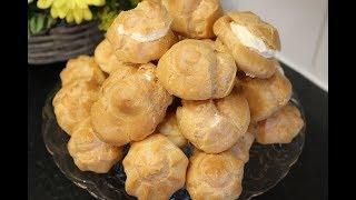 نان خامه ای دستور شماره 1 ، شیرینی نان خامه ای از الف تا ی  نتیجه مثل قنادی های ایران  Episode_82