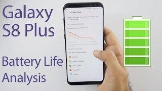 Samsung Galaxy S8+ Battery Life In-depth Analysis