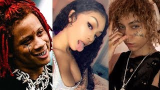 Trippie Redd Goons & Cuban Doll Pulled Up On Ayleks