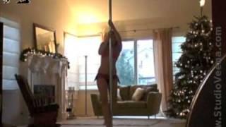 10 weeks postpartum- POLE DANCE