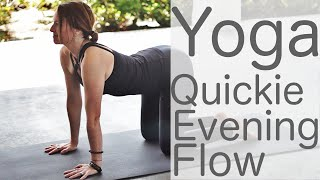 10 Minute Yoga Quickie Evening Flow With Fightmaster Yoga