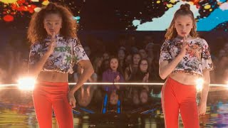 KynTay dance battle performance on world of dance nbc (Taylor Hatala ,Kyndall Harris)