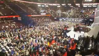 Uproar at Republican convention as anti-Trump delegates revolt