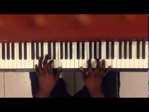 Because of who You are - olivier piano tutorial