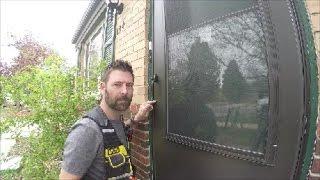 Installing a Home Depot Screen Door | THE HANDYMAN