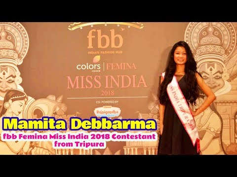 Xxx Mp4 Mamita Debbarma Fbb Femina Miss India 2018 Contestant From Tripura 3gp Sex