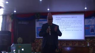 Pharmacy Ethics -Baburam Humagain, General Secretary, Forum for Protection of Consumer Rights Nepal